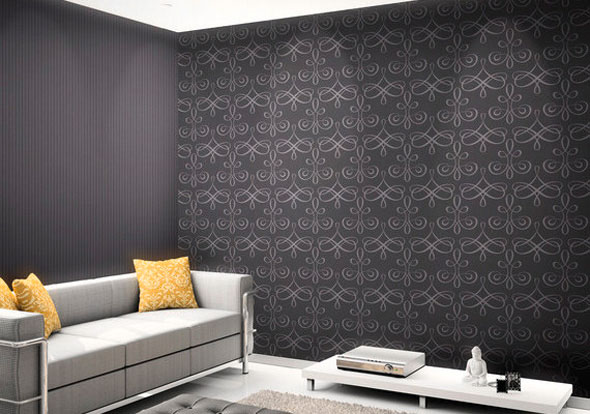 tendances papier peint papiers peints originaux papier. Black Bedroom Furniture Sets. Home Design Ideas