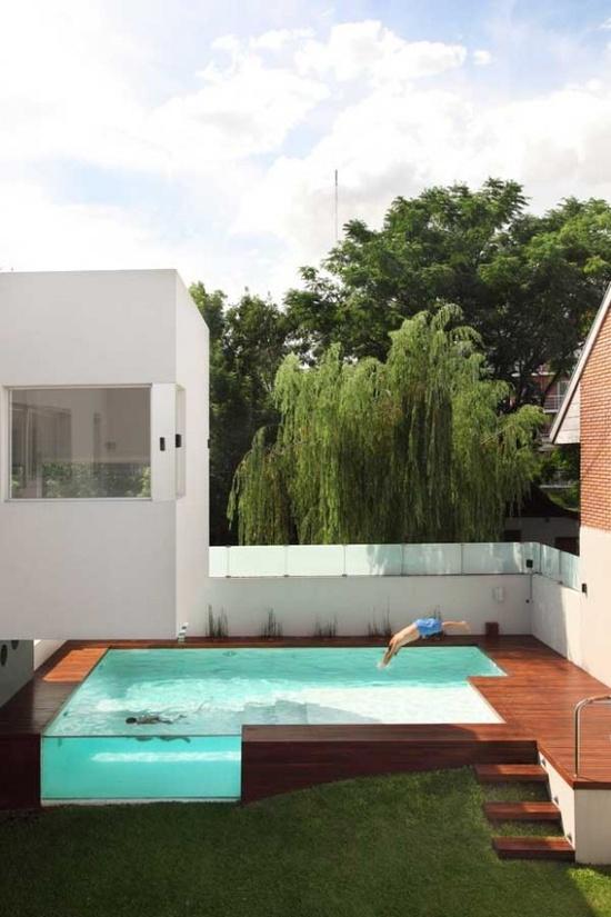 Les tendances de piscines modernes