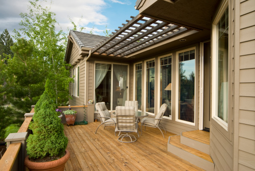 Comment amenager terrasse amenagement terrasse - Comment amenager une grande terrasse ...