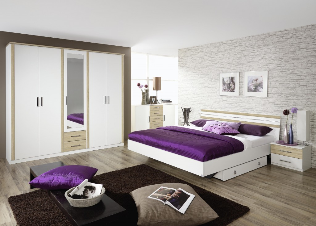 Interieur blanc decoration blanc blanc contemporain for Chambre a coucher blanche moderne