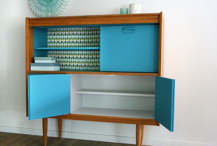 source pinterest - Meuble Vintage