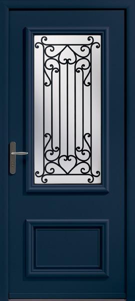 Traditionnelle vs moderne quel style pour ma porte - Encadrement metallique porte d entree ...