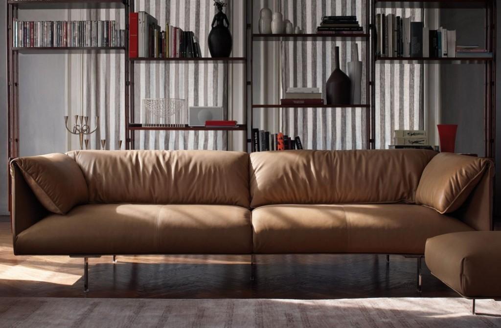 5 mobiliers pour moderniser un salon mobiliers design for Canape poltrona frau