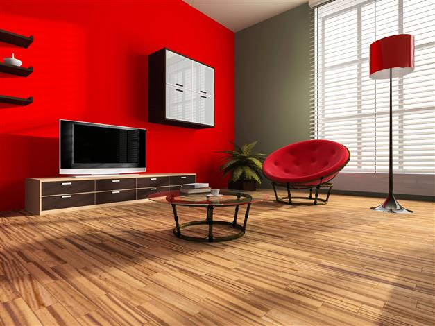5 id es pour peindre un mur en couleur blog home - Peindre un mur rouge ...