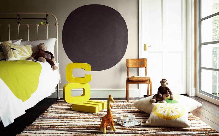 5 id es pour peindre un mur en couleur blog home - Couleurs chaudes en peinture ...