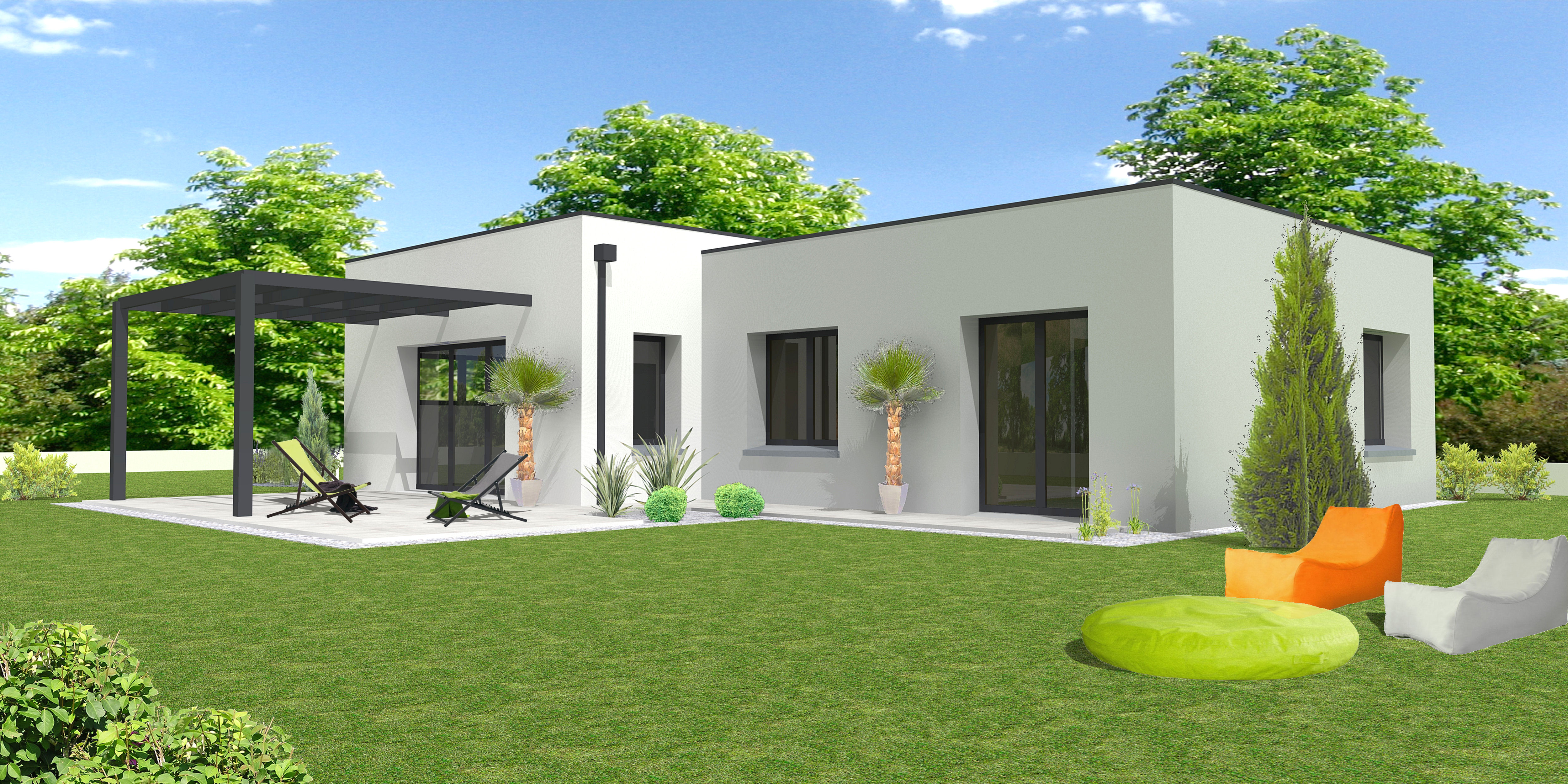 Interesting with maison neuve a construire for Achat maison neuve ile de france