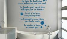 Déco salle de bain : et si on essayait les stickers personnalisés ?
