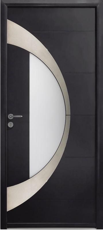 porte d'entrée en aluminium zilten