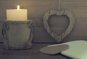 déco hiver bougies