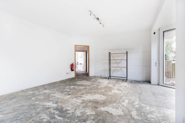 Travaux d'une maison en cours de rénovation